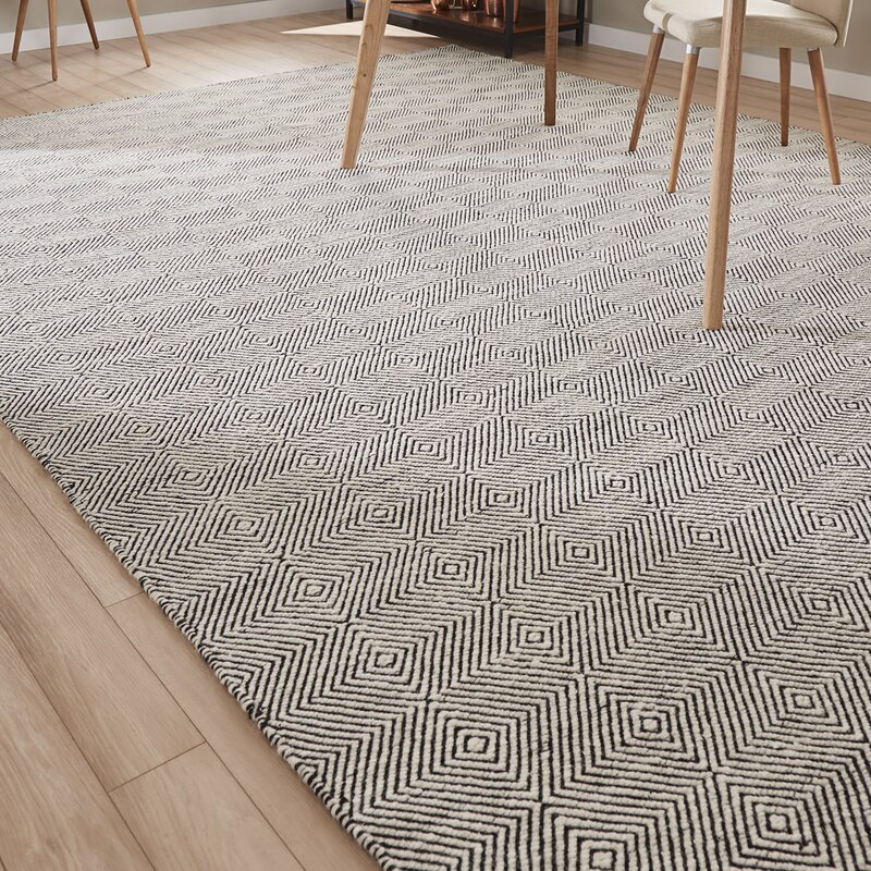 Marcelo Hand Woven Ivory Area Rug