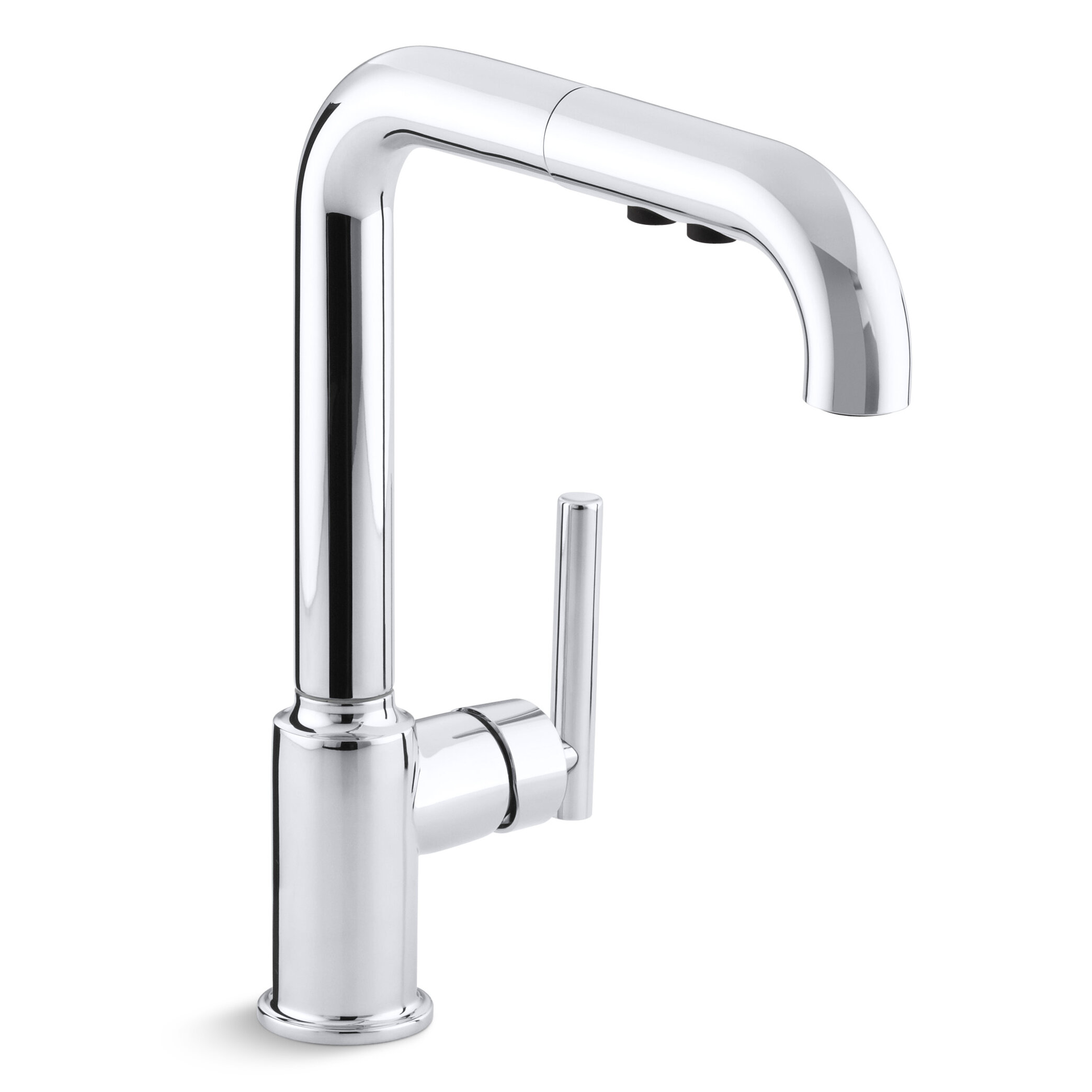 Purist Single-Hole Kitchen Sink Faucet with 8\