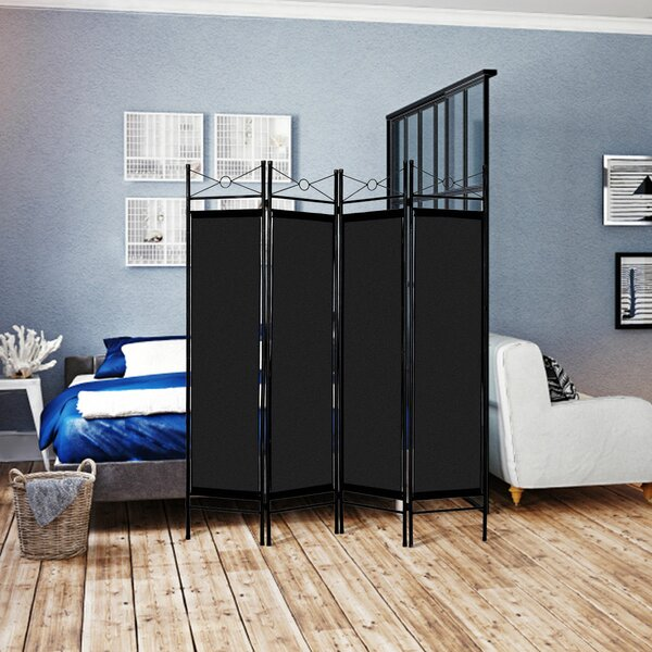 Petrone 4 Panel Room Divider by Winston Porter