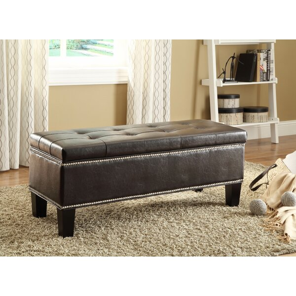 Reverie Upholstered Storage Bench By Woodhaven Hill 2019 Sale