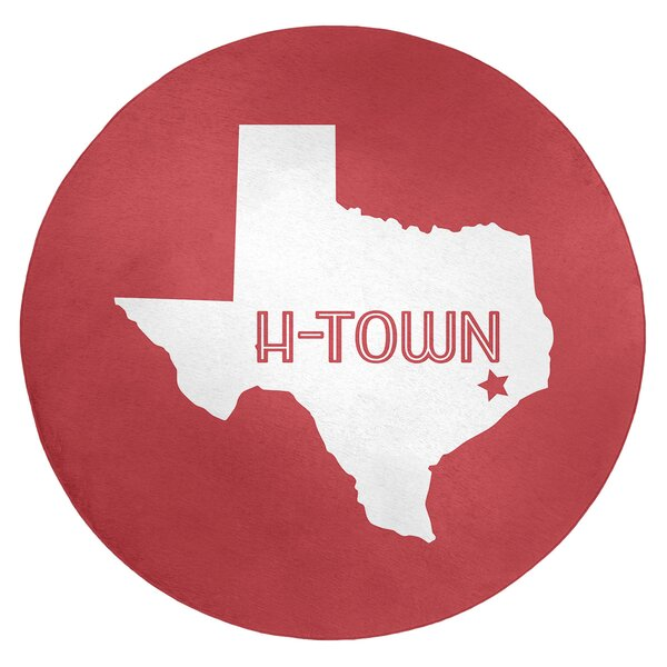 H-Town Texas Poly Chenille Rug