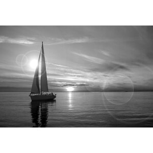 'Sailboat' Photographic Print by East Urban Home