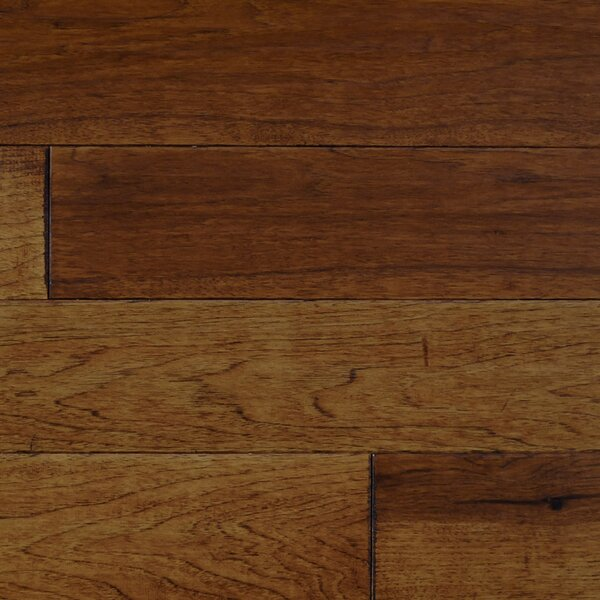 Tap Room 5 Engineered Hickory Hardwood Flooring in Amber by Albero Valley
