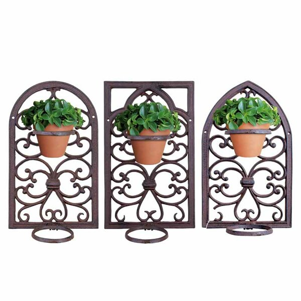 Window Frame 3 Piece Plant Stand Set by EsschertDesign