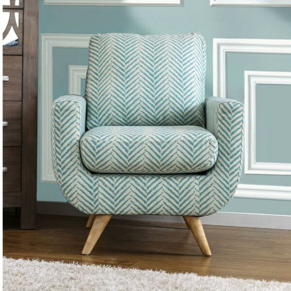 Dottie Patterned Armchair by Corrigan Studio
