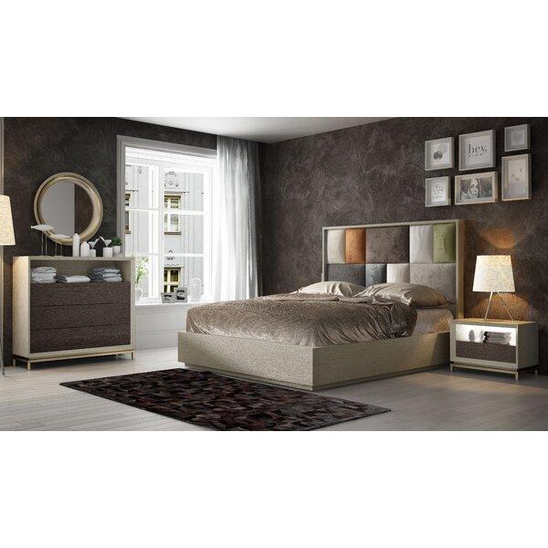 King Platform 5 Piece Bedroom Set by Hispania Home