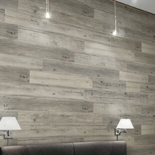 Light Solidity 5 Vinyl Wall Paneling In Harbor Wood