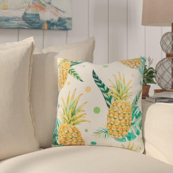 Sherwick Pineapple Throw Pillow by Bay Isle Home