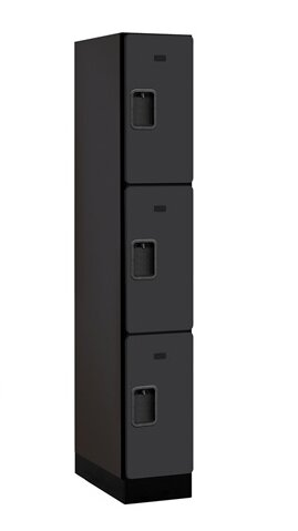 3 Tier 1 Wide Locker Room Locker by Salsbury Industries