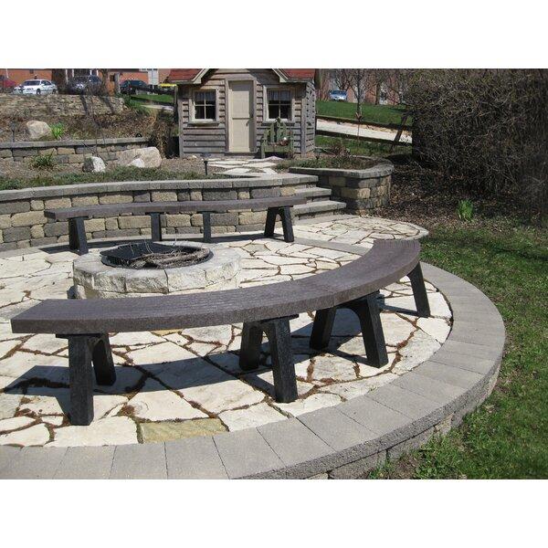 Eatonton Plastic Garden Bench by Freeport Park
