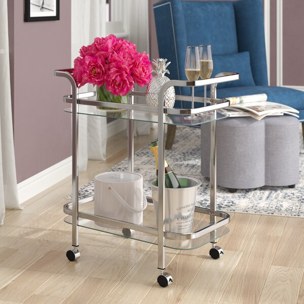 Keesler Bar Cart By Willa Arlo Interiors