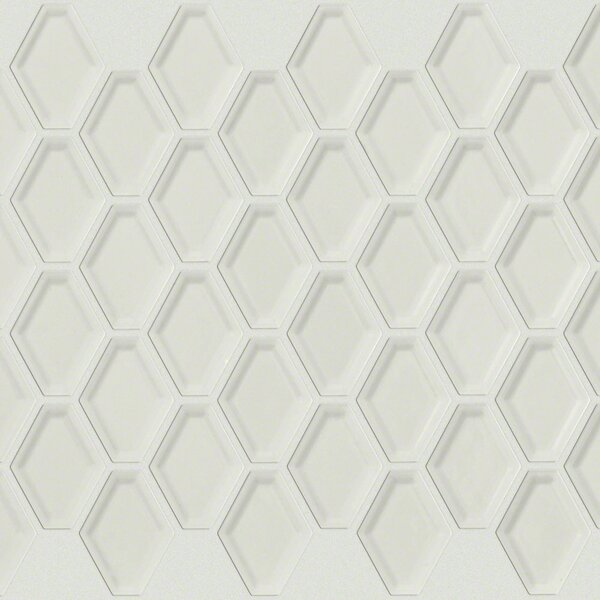 Sophisticated 3 x 3 Porcelain Mosaic Tile in Warm Gray by Shaw Floors