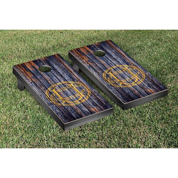 NCAA Weathered Version Cornhole Game Set by Victory Tailgate
