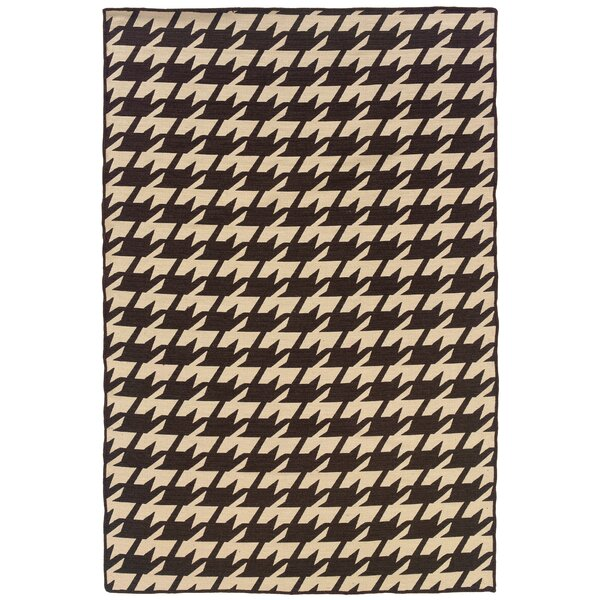 Destinee Hand-Tufted Brown/Beige Area Rug by Corrigan Studio