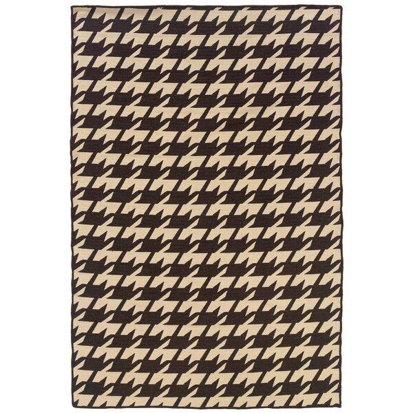 Destinee Hand-Tufted Brown/Beige Area Rug by Corrigan Studio