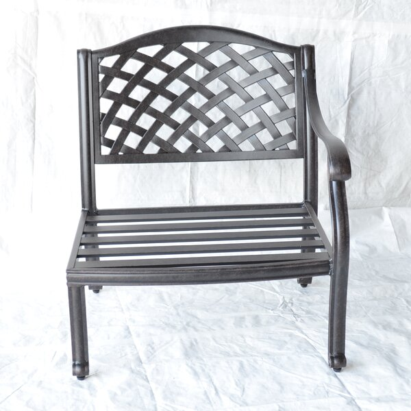 Nola Left-Arm Club Chair by Darby Home Co