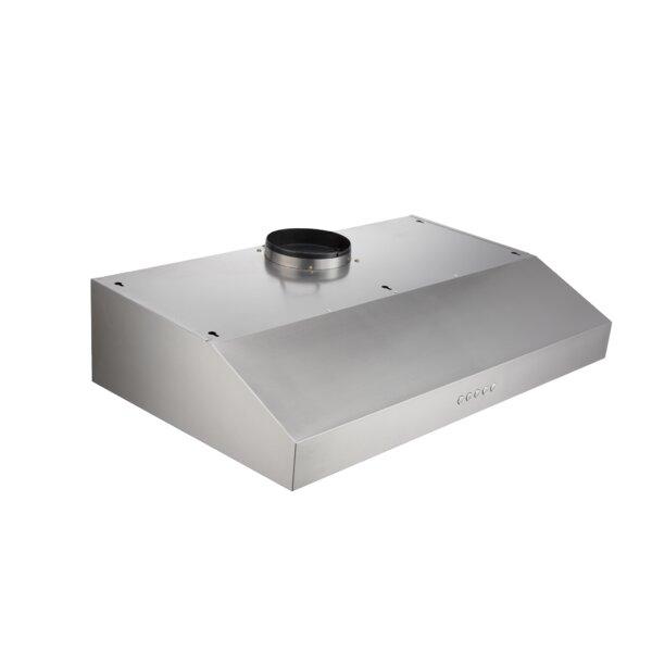 30 410 CFM Ducted Under Cabinet Range Hood by Trifecte