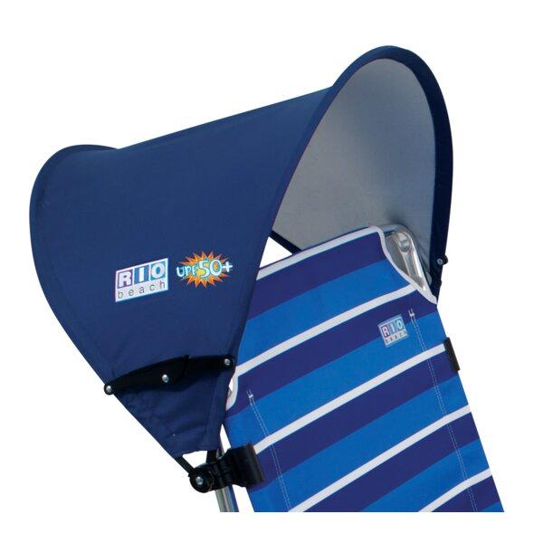 RIO Beach MyCanopy Personal Chair Shade - Blue by Rio Brands Rio Brands