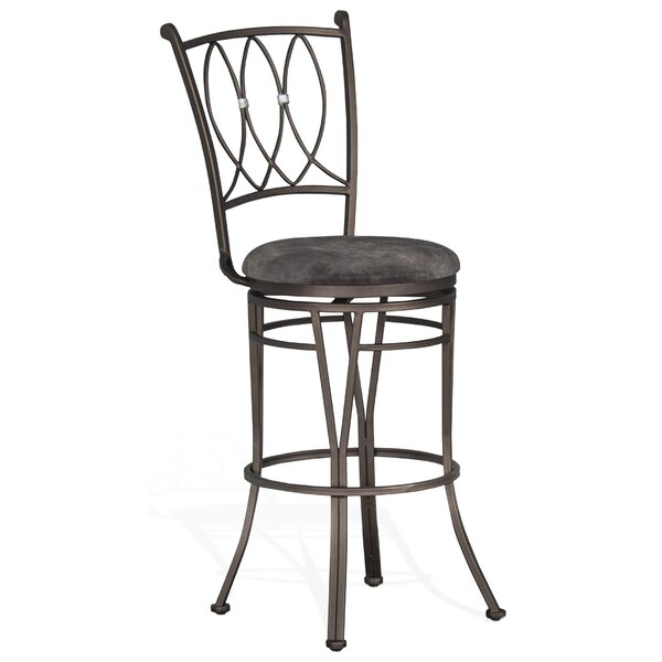 Abbot Bridge 30 Swivel Bar Stool by Fleur De Lis Living