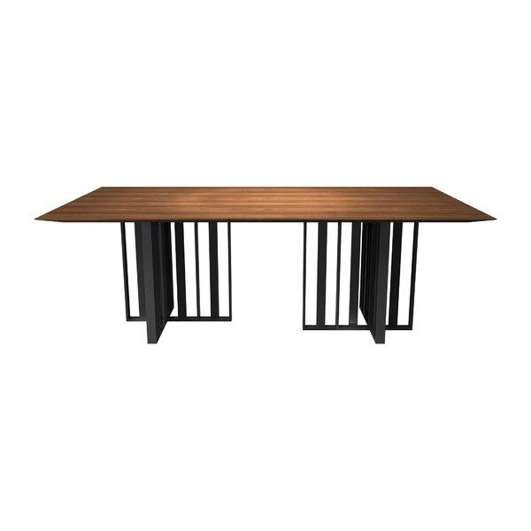Spitalfields Dining Table by Modloft Black Modloft Black