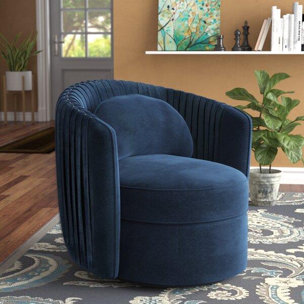 Alan Swivel Barrel Chair by Grovelane Teen