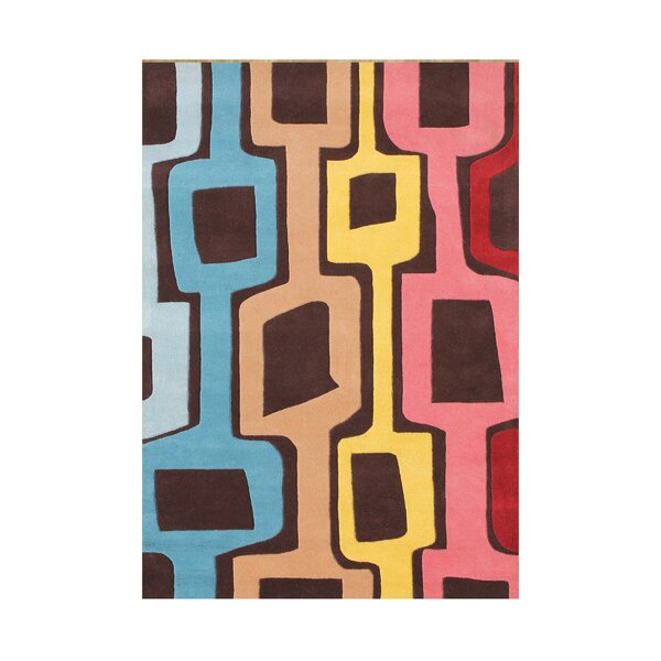 Aliezah  Hand-Tufted Coca Brown Area Rug by Wildon Home ®