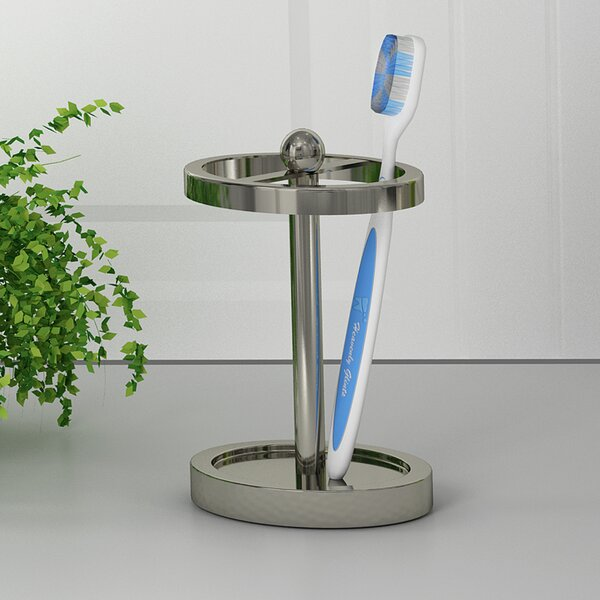 Classic Toothbrush Holder by NU Steel