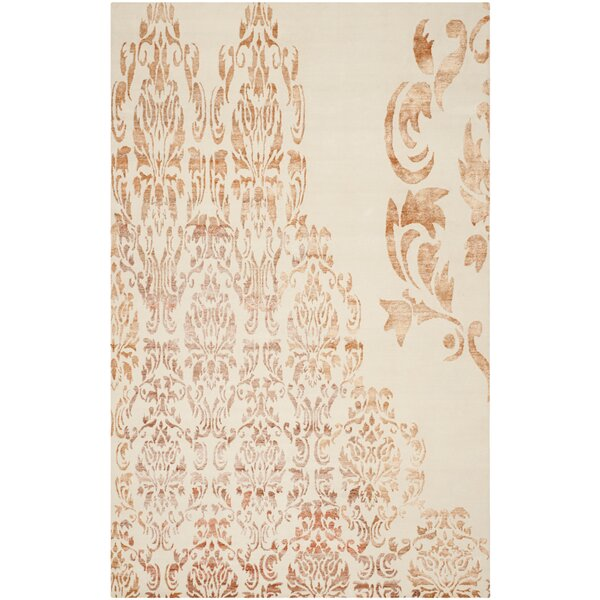 Marston Hand-Knotted Ivory Area Rug