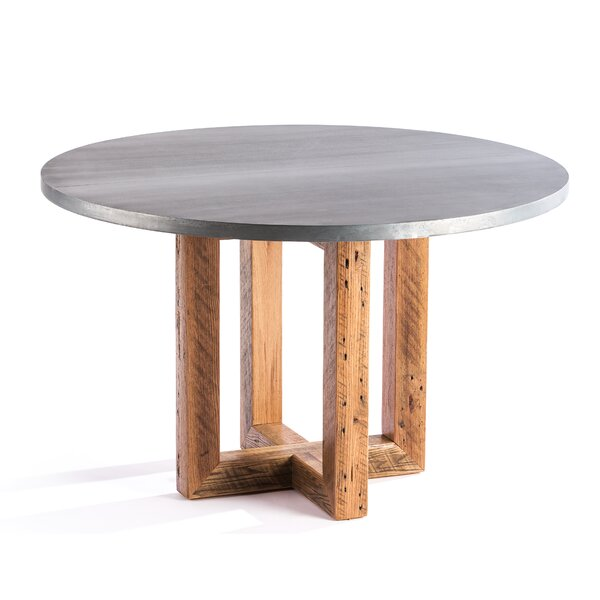 Schulze Solid Wood Dining Table by Gracie Oaks