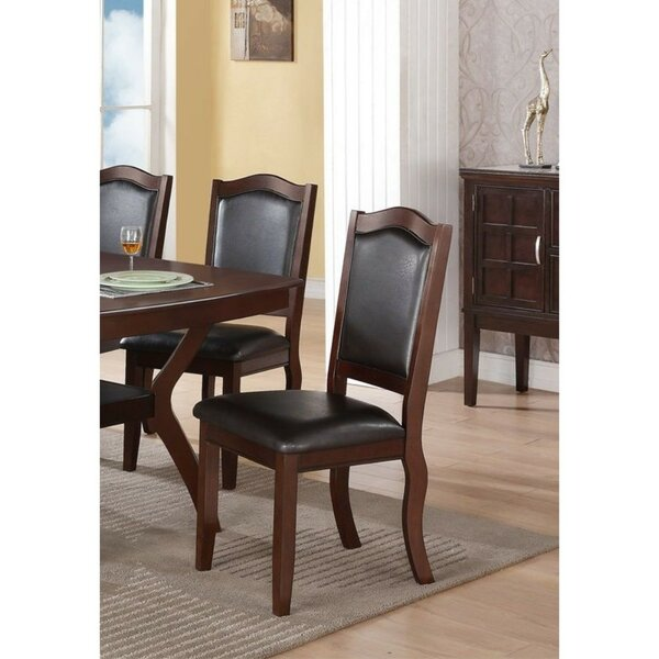 Rubino Contemporary Upholstered Dining Chair (Set of 2) by Charlton Home