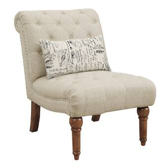 Crisfield Chair Pad Earth Beige