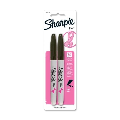 Sharpie Fine Point Marker (2 Per pack) by Sanford Ink Corporation