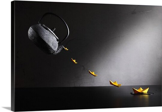 Tea Dreams II by Victoria Ivanova Wall Art on Canvas by Canvas On Demand