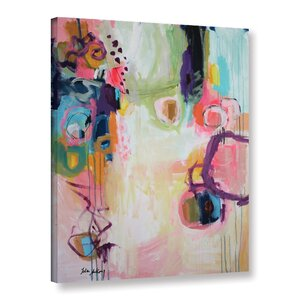 Garden Abstract I Painting Print on Wrapped Canvas by Latitude Run