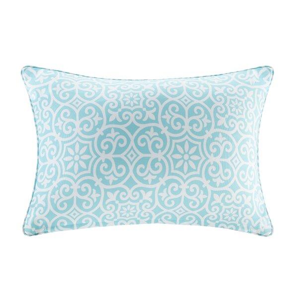Callery Fretwork 3M Scotchgard Outdoor Lumbar Pillow by Andover Mills