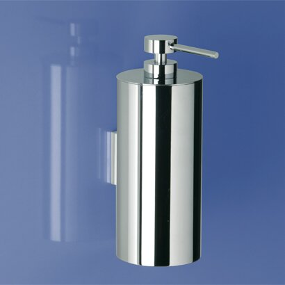 Rounded Wall Mount Brass Soap Dispenser by Windisch by Nameeks