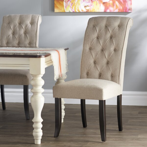 Cuadra Tufted Side Chair (Set of 2) by Charlton Home