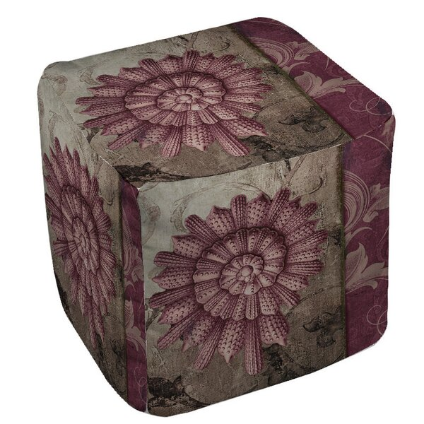 Shore Lines 2 Pouf by Manual Woodworkers & Weavers