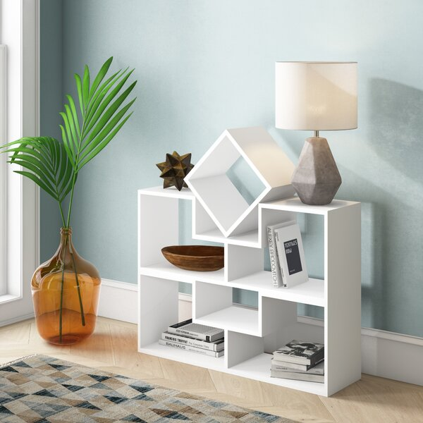 Camptown Geometric Bookcase by Ivy Bronx