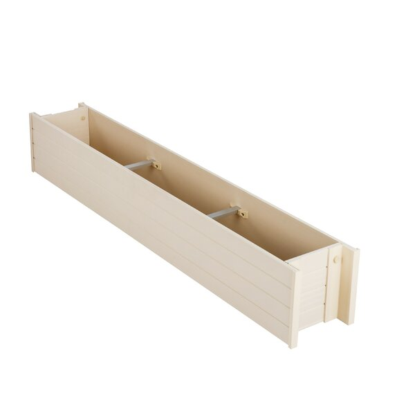 William Rectangular Wood Window Box Planter by Millwood Pines