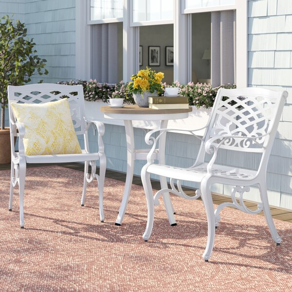 Bentonville Outdoor Patio Dining Chair (Set of 2) by Sol 72 Outdoor