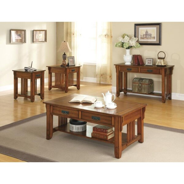 Rock 4 Piece Coffee Table Set by Loon Peak
