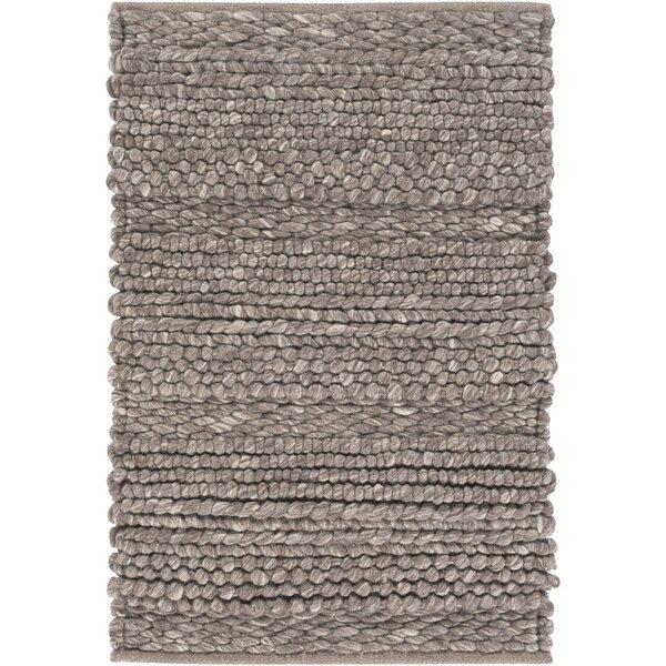 Jocelyn Handwoven Wool Brown Area Rug by Birch Lane™