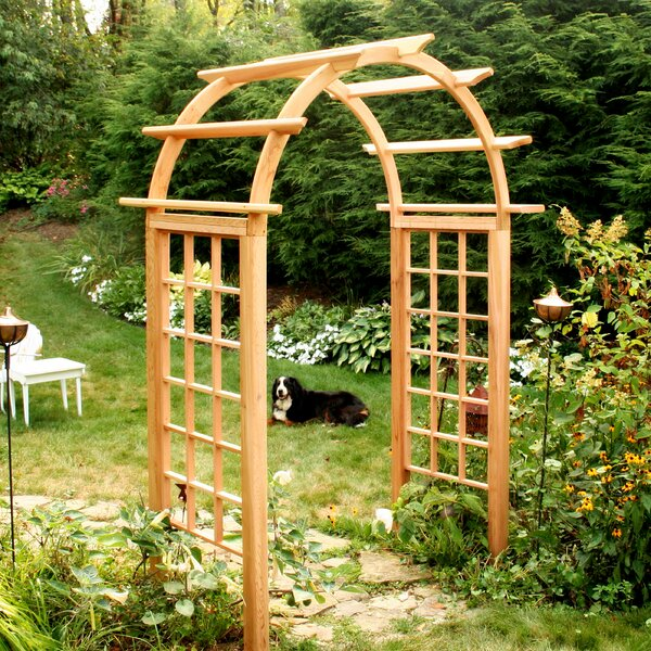 Cedar Wood Arbor by Creekvine Designs