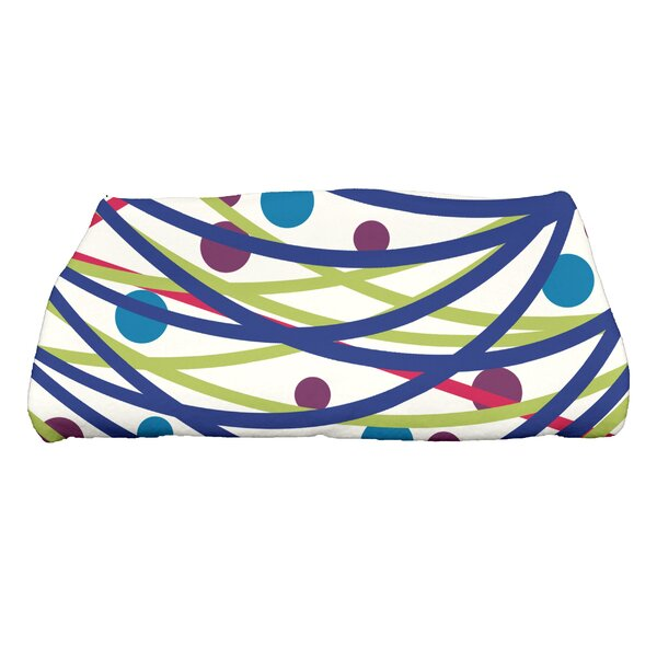 Jump for Joy Doodle Decorations Bath Towel by The Holiday Aisle