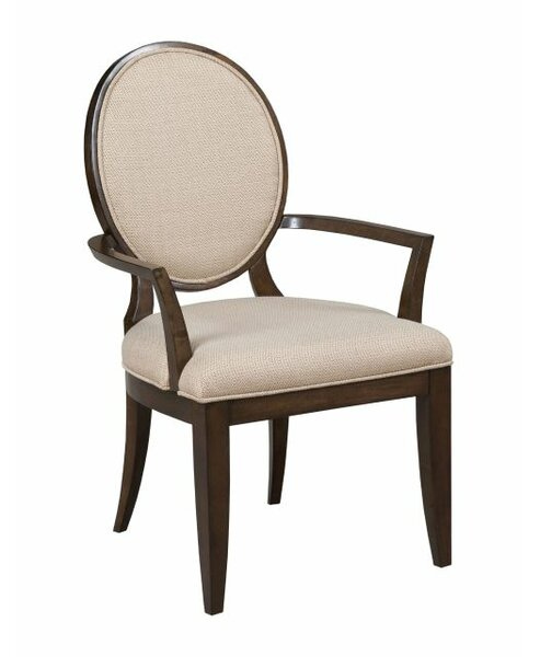 Bordeaux Upholstered Dining Arm Chair by Canora Grey