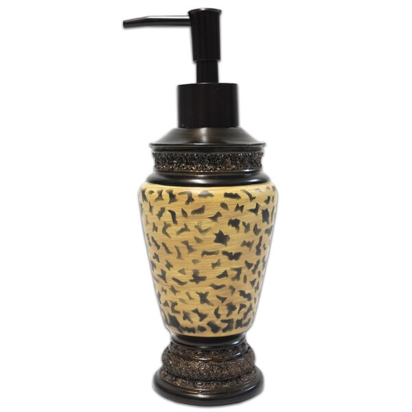 Nisbet Bathroom Resin Lotion Soap Dispenser by Bloomsbury Market