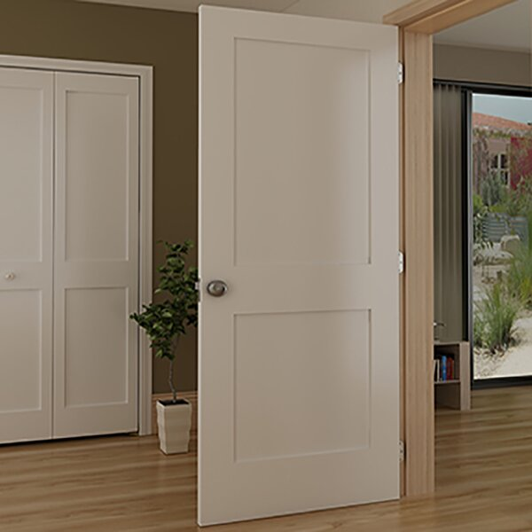 Shaker 2 Panel Wood Slab Interior Door by Kimberly Bay