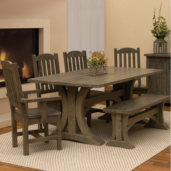 Frontier 6 Piece Dining Set by Fireside Lodge
