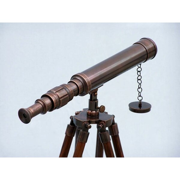 Harbor Master Decorative Telescope by Handcrafted